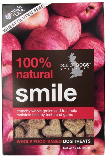 Isle of Dogs 100% Natural Smile Dog Treats
