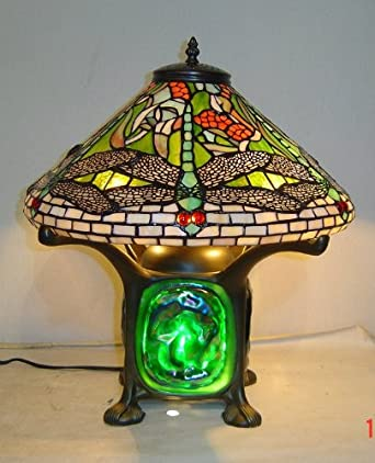 tiffany style dragonfly green lava lamp table lamps. Black Bedroom Furniture Sets. Home Design Ideas