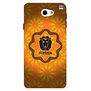 Simha - Mobile Back Case Cover For Samsung Galaxy On 7 (2016)