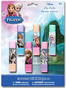 Frozen Lip Balms, 6 Count (Pack of 6)