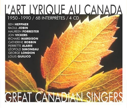 Canadian Great Singers 1950-90 [Canada]