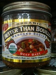 Better Than Bouillon Organic Beef Base, Reduced Sodium - 16 oz