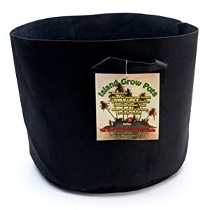 "Island Grow Pots- 5 Gallon Grow Bag Container- Perfect for Growing Tomatoes, Potatoes and All Other Plants By Island Grow Pots          Click for more info     Customer Rating:       First tagged ""hydroponic"" by Island Hopper"