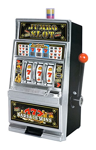 Lucky Sevens Jumbo Slot Machine Bank Replica