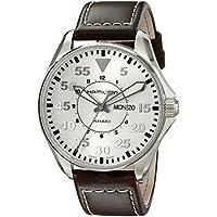 Hamilton H64611555 Khaki Pilot Silver Day Date Dial Leather Men's Watch (Brown)