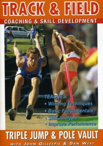 Track And Field Coaching And Skill Development Series Vol.6 - Triple Jump And Pole Vault [DVD]