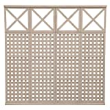 Yardistry Privacy Panel Kit, 4-High