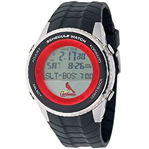 MLB Mens MLB-SW-STL Schedule Series St. Louis Cardinals Watch by Game Time