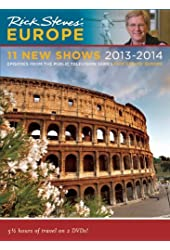 Rick Steves' Europe 11 New Shows DVD 2013–2014
