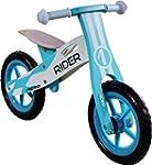 Nicko Rider Blue Wooden Balance Bike...