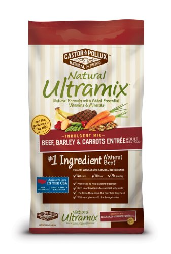 Natural Ultramix Beef/Ground Whole Oats/Barley and Carrots Entrée for Pets, 30-Pound (Natural Ultramix Cat Food compare prices)