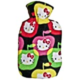 Warm Tradition Hello Kitty Fleece Covered Hot Water Bottle - Bottle made in Germany, Cover made in USA