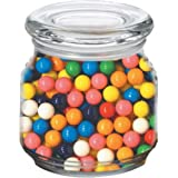 Gum Balls in Pritchey Patio Glass Jar 8oz Trade Show Giveaway