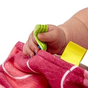 Taggies - Tapete pequeño para tocar, color rosa de Taggies