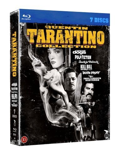 Quentin Tarantino Collection - 7-Disc Box Set ( Reservoir Dogs / Pulp Fiction / Jackie Brown / Kill Bill: Vol. 1 / Kill Bill: Vol. 2 / Death [ Origine Danese, Nessuna Lingua Italiana ] (Blu-Ray)