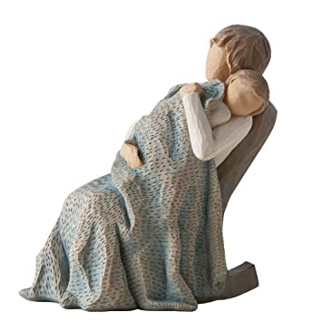 #!Cheap Willow Tree The Quilt Figurine by Susan Lordi, 26250