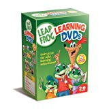 Leapfrog Learning DVDs 5-Pack (Talking Words Factory / Talking Words Factory II / Learn to Read at the Storybook Factory / Letter Factory /Math Circus) ~ Leapfrog 5pak