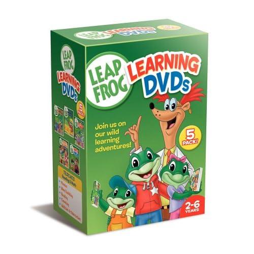Leap Frog Learning [2004 г., Обучающие мультфильмы,DVDRip]