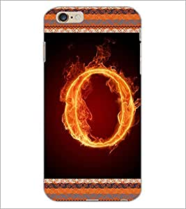 PrintDhaba GRANDbet O D-2543 Back Case Cover for APPLE IPHONE 6 PLUS (Multi-Coloured)