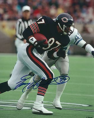 Autographed Emery Moorehead 8x10 Chicago Bears Photo
