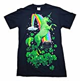 St. Patrick's Day Shandy Mountain Unicorn Graphic T-Shirt