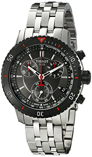 tissot-mens-t0674172105100-t-sport-textured-dial-stainless-steel-watch