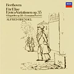 "Ludwig van Beethoven: 15 Piano Variations and Fugue in E flat, Op.35 -""Eroica Variations"" - Variation 8"