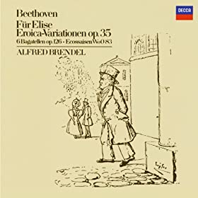 "Ludwig van Beethoven: 15 Piano Variations and Fugue in E flat, Op.35 -""Eroica Variations"" - Variation 4"
