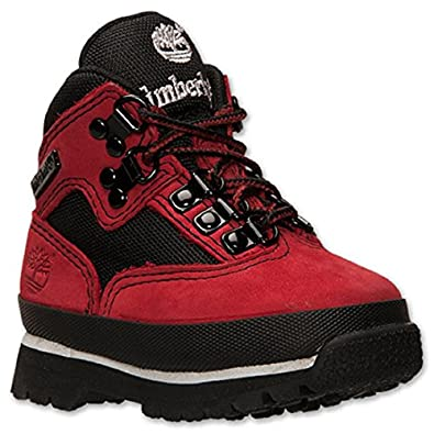Amazon.com: Boys' Toddler Timberland Euro Hiker Boots- Red ...