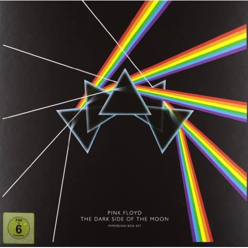 Dark Side Of The Moon Immersion Box (3 CDs, 2 DVDs, 1 Blu ray)