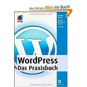eBook Cover für  WordPress Das Praxisbuch mitp Anwendungen