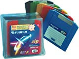 Fujifilm 100 MB Zip Disk Mac Formatted (5-Pack, Assorted Colors)