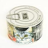黒缶そっくりロウソク 猫缶キャンドル 愛猫の墓前やお仏壇に