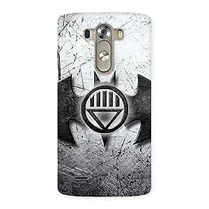 Impressive Black Knight Shade Back Case Cover for LG G3