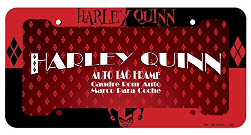 Chroma Graphics 42527 Red and Black Plastic Harley Quinn Frame (License Plate Frame Harley compare prices)
