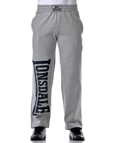 Lonsdale Pantalone Jogging Rafty [Grigio]