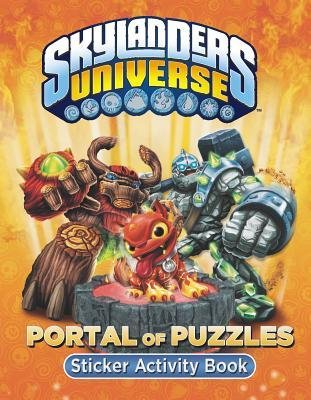 [ Skylanders Universe Portal of Puzzles Sticker Activity Book Grosset & Dunlap ( Author ) ] { Paperback } 2013