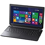 TOSHIBA 15.6型 ノートPC dynabookEX(ダイナブック) Windows8.1/Core i3-4025U/メモリ4GB/HDD500GB ブラック PB25-66NSPB