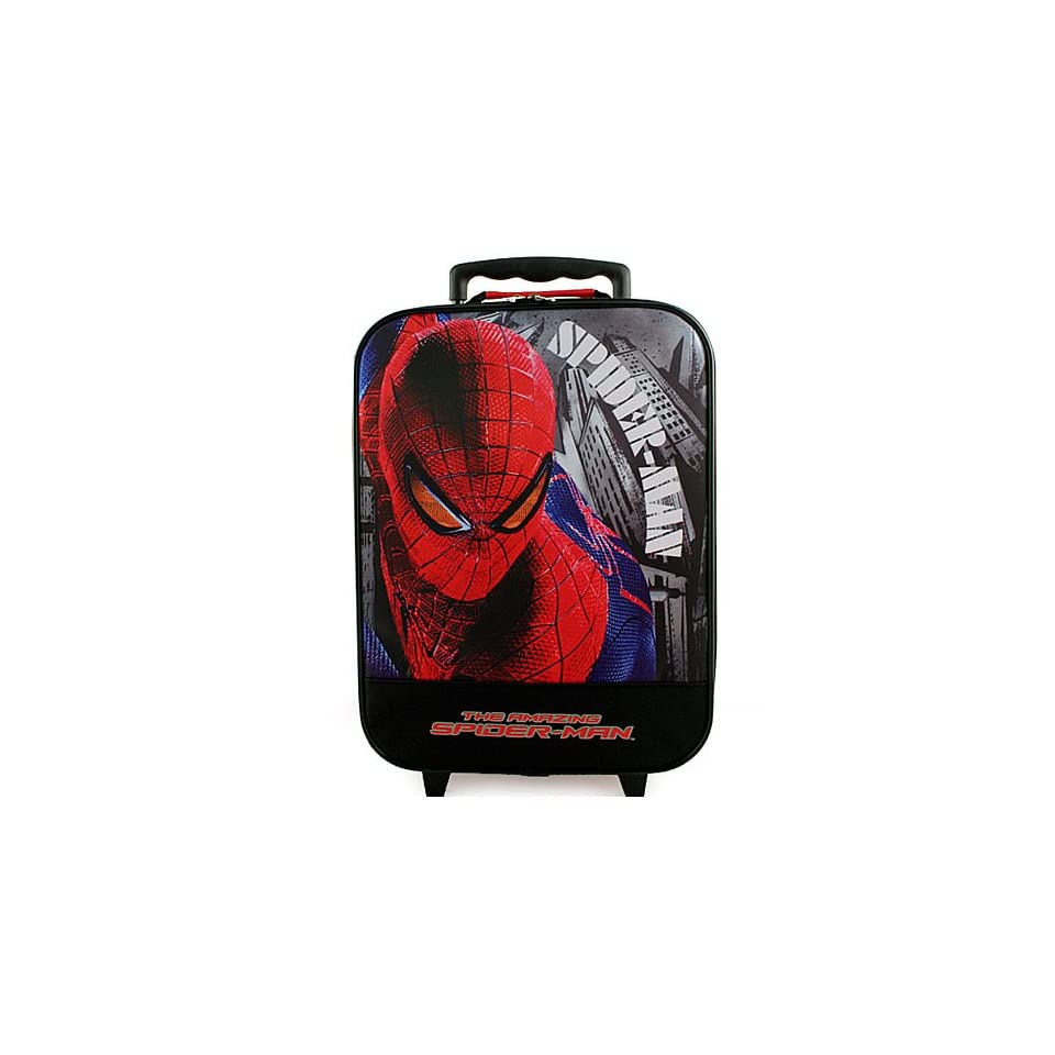 Spider Man Rolling Luggage Case [The Amazing Spider Man]: Toys & Games