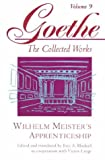 Image of Wilhelm Meister's Apprenticeship (Goethe: The Collected Works, Vol. 9)