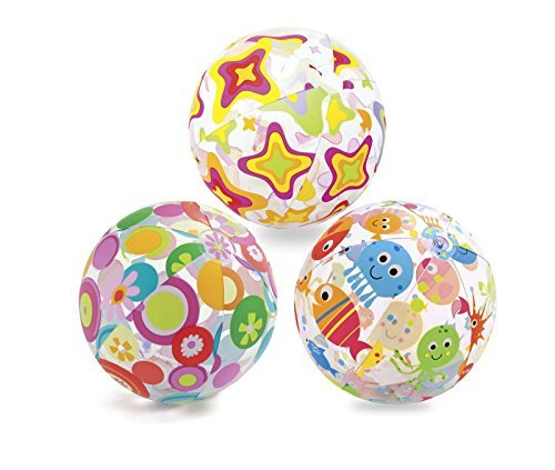 "Intex Lively Print Beach Ball 24"" (Styles May Vary) - 2 Count"