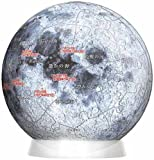 3D球体パズル 60ピース 月球儀 2003-257