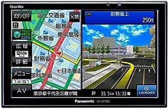 パナソニック(Panasonic) ゴリラ(Gorilla) 7V型 16GBSSD搭載 ワイドVGA ワンセグ SSDポータルカーナビゲーション CN-GP750D