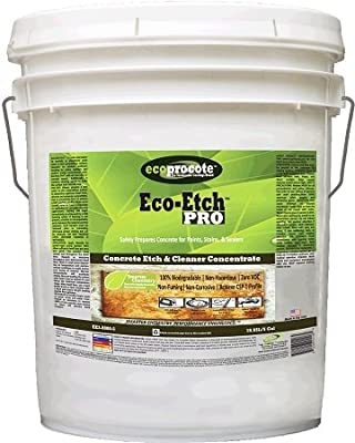 Eco-Etch Pro EE3-8000-5 Concrete Etch & Cleaner, 5 Gal
