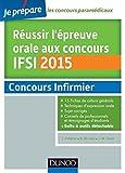 Réussir l'épreuve orale au concours IFSI 2015...
