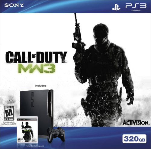 Playstation 3 320GB HW Bundle – Call of Duty: Modern Warfare 3