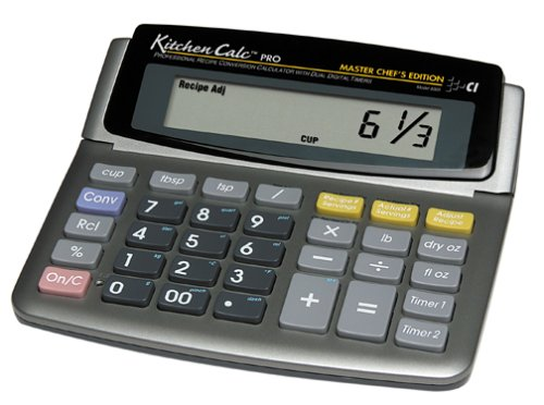 KitchenCalc Pro DeskTop Version - Calculated Industries, Inc - RC-CI8305 - ISBN: B00007L6PG - ISBN-13: 0098584083052