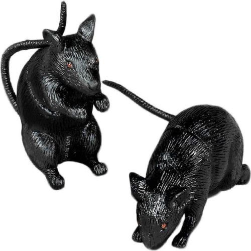 Plastic Squeak Rat (Each) - Party Supplies >>> These mini prop rats are frighteningly detailed and a great item to include when setting up for your Halloween (Girl Minion Costume In Stock)