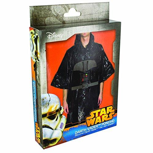 Star Wars - Poncho per travestimento da Darth Vader, Taglia unica