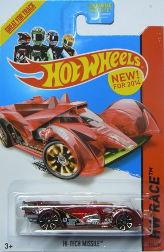 Hot Wheels X-Raycers 2014 Hw Race Hi-Tech Missile 180/250 - 1